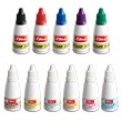 1 ounce ink red blue purple brown orange pink turquoise
