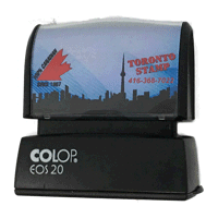 EOS/AutoMark™ Pre-Inked Rubber Stamps