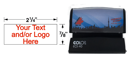 Top quality pre-inked rubber stamp. Colop, Trodat, EZ-Mark, Accu-Stamp, Max-Light, ExcelMark, AutoMarks all have the best quality stamp impressions. Customize your product for next day shipping.