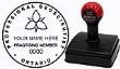 APG-PRC-MRK - APGO PRACTISING MEMBER MARK-IT RUBBER STAMP