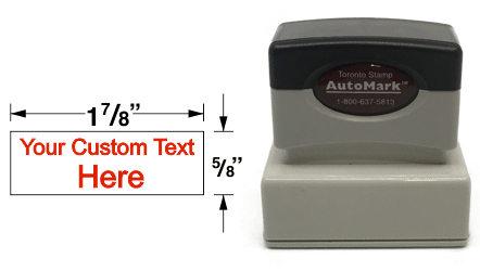 AM-11 - AM-11 AutoMark Pre-Inked Stamp