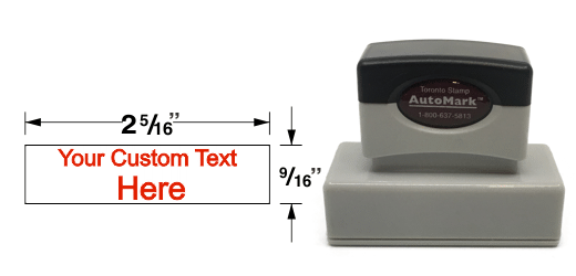 AM-145 - AM-145 AutoMark Pre-Inked Stamp