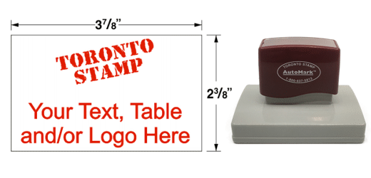 AM-28 - AM-28 AutoMark Pre-Inked Stamp