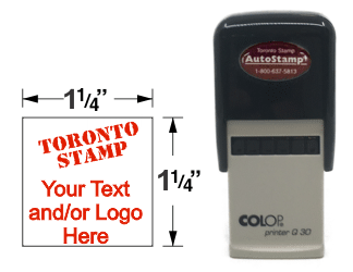 AS-30Q - AutoStamp™  Self-Inking Rubber Stamp