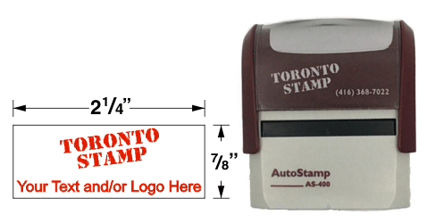 AS-400 - AutoStamp™ Self-Inking Rubber Stamp