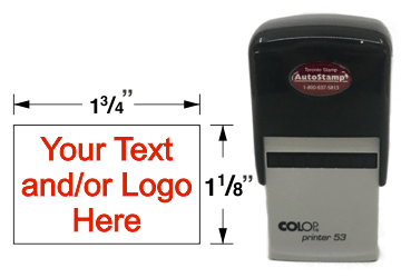 AS-530 - AutoStamp™ Self-Inking Rubber Stamp