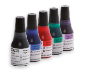 Pre-Inked Stamp Ink for Colop EOS Pre-Inked Stamps. Ink for non porous surfaces (quick dry) is also available.