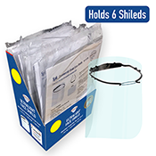 POP-FS-COM-MOD - Retail Prepack-Face Shield Module with 6x Ultralight Face Shields