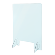 Toronto Stamp sneeze guards, barriers, and room dividers are optically clear, lightweight, shatterproof, and flame-resistant. Easy to install and remove, simple to clean and sanitize, resistant to acids and disinfecting chemicals, ideal for any workplace