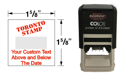 AD-43Q - AD-43Q AutoDater Self-Inker