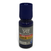 Shachihata's TAT STSG Ink is imported from Japan. This is a permanent ink is perfect for plastic or wax bags, glass, metal or any other non-porous surface, or harsh environment.