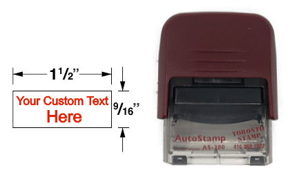 AS-200 - AutoStamp™ Self-Inking Rubber Stamp
